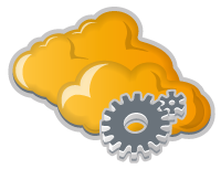 cloud ready drivers yellow 3d